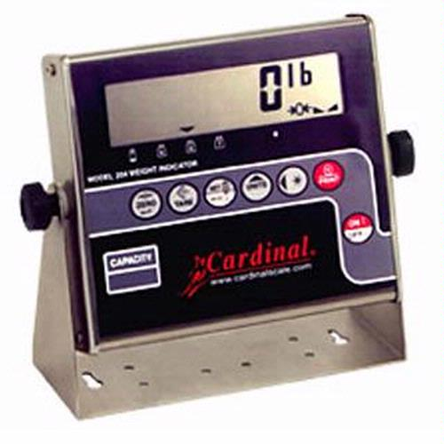 Detecto Model 204 Digital Weight Indicator - 1' LCD display
