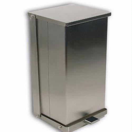 Detecto C-16 Step-On Can Waste Receptacle 16 Quart (4 Gallon) Capacity
