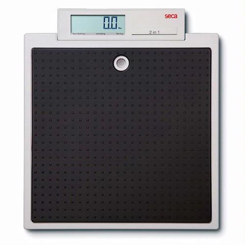 Seca 876 Flat scales for mobile use 330 x 0.2 lb and 550 x 0.5 lb