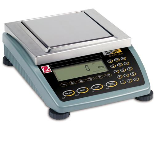 Ohaus OS3000091215L Ranger 3000 15L Counting Scale 1:1,500,000 Internal Counting Resolution