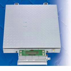 Intercomp CW250 100162-R Platform Scale with Indicator, 150 x .05 lb