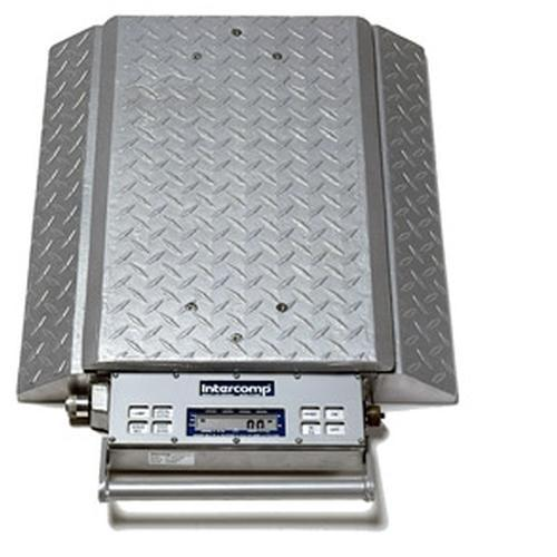 Intercomp PT300DW 100099-RF (Double Wide) Wheel Load Scales with 900 MHz Wireless, 5000 x 5 lb