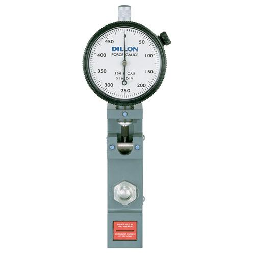 Dillon 30354-0066, Low-Range Flat-Bottom Model U Force Gauge - (10 x 0.10 kg Capacity & Dial Divisions)