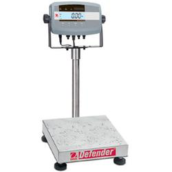 Ohaus Defender 5000 Square Scales Semi-Washdown Scales
