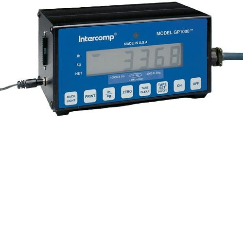 Intercomp 100011 GP1000 Battery Operated Indicator 1mm L.C.D (1/25mm LCD Display)