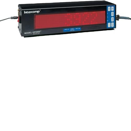 Intercomp 100012 GP2000 Combination Indicator/Remote Display (2/50mm LED Display)