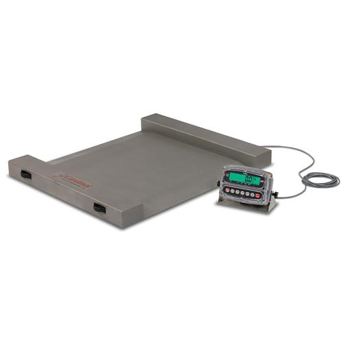 Detecto rw 1000 run a weigh portable floor scales 1 000 lb for 1000 lb floor scale