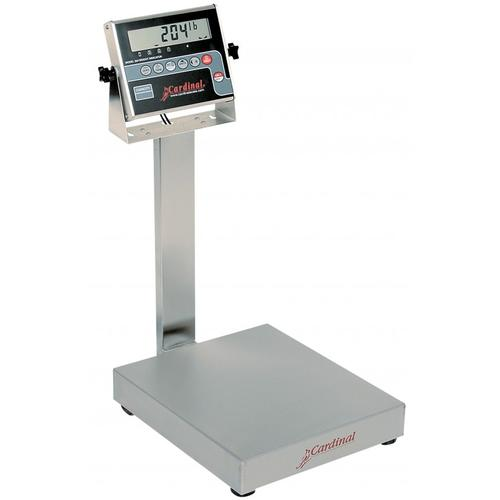 Detecto EB-150-204 EB-204 Series Stainless Steel Bench Scales,150 lb x .05 lb
