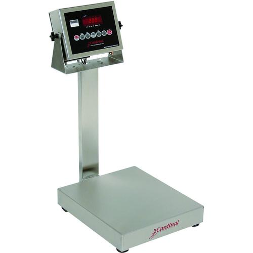Detecto EB-300-205 EB-205 Series Stainless Steel Bench Scales,300 lb x 0.1 lb