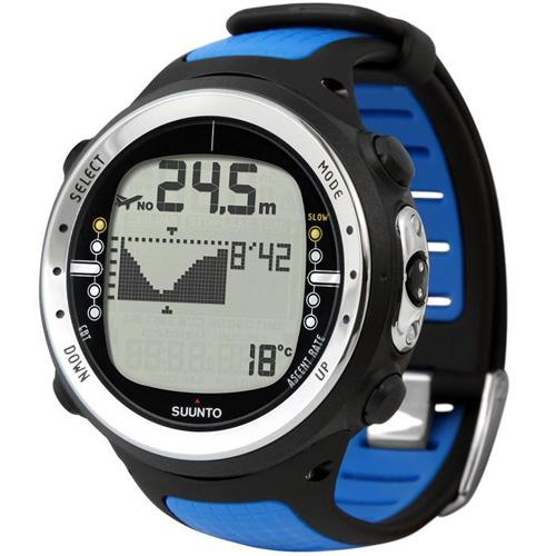 Suunto ss014106100 d4 elastomer diving watch blue coupons and discounts may be available - Suunto dive watch ...