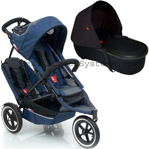 Phil & Teds SP53baskit Sport Stroller with Double Kit in Navy ...
