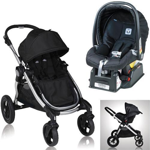 baby jogger city select onyx stroller with peg perego nero black car seat coupons and. Black Bedroom Furniture Sets. Home Design Ideas