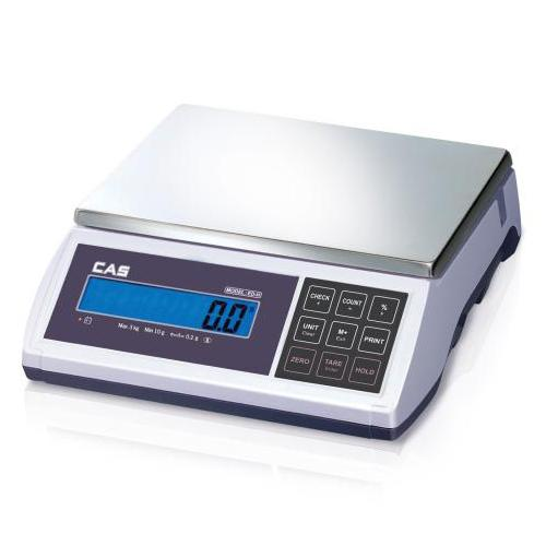 CAS ED-6 Bench Scale Legal for Trade, 6 lb x 0.001lbs