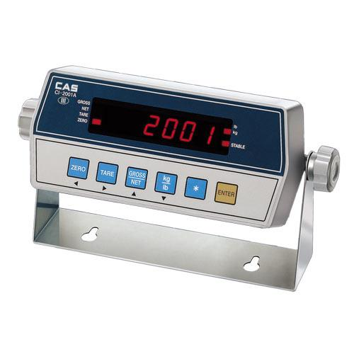 CAS CI-2001A Indicator with Bright LED Display, Legal for Trade