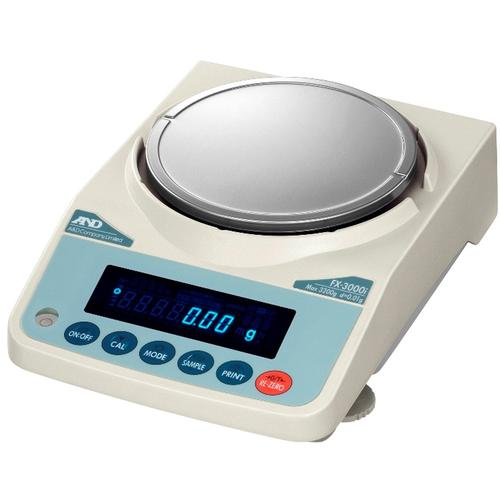 AND Weighing FX-3000i Precision Balance,3200 x 0.01 g
