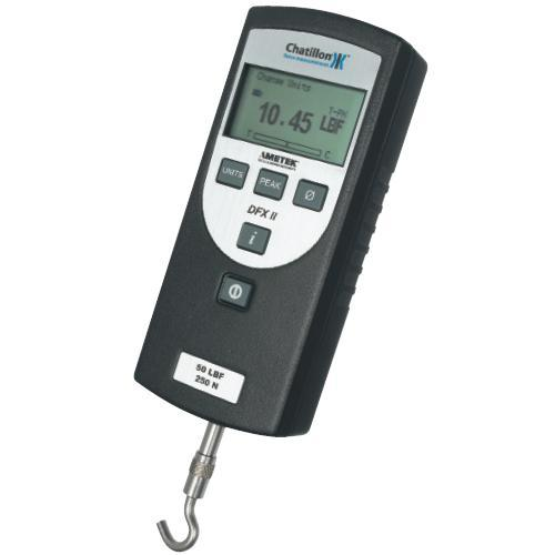 Chatillon DFX2-050-NIST Digital Force Gauge With Certificate of Calibration -  50x 0.05 lbf