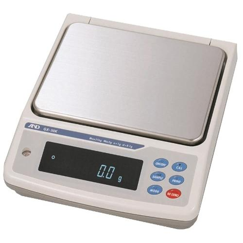 AND Weighing GX-10K Industrial Scale, 10.1 kg x 0.01 g