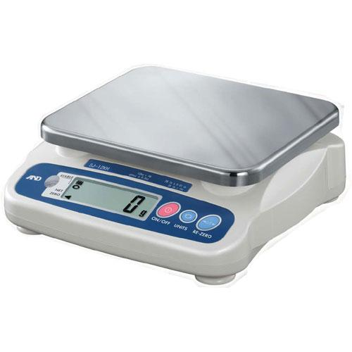 AND Weighing SJ-5001HS General Purpose Digital Scale, 11lb x 0.005 lb