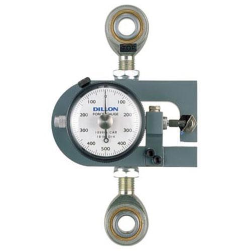 Dillon 30445-0182 X-ST Tension Force Gauge with Maximum Hand, 100 x 1 kg