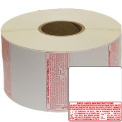 Torrey TR-8040 58 x 60mm UPC + Safe Handling Thermal labels 1 Roll (1000 Lables)