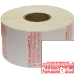 Torrey TR-8040x12 58 x 60mm UPC + Safe Handling Thermal labels 12 Roll (1000 Lables)