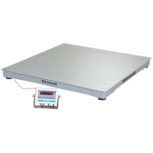 Brecknell DSB3636-02.5 Legal for Trade 36`` x 36`` Floor Scale 2500 x 0.5 lb