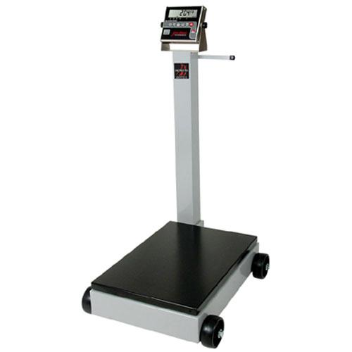 Detecto 5852F-205 Legal for Trade Digital Portable Scale, 500 lb x  0.2 lb