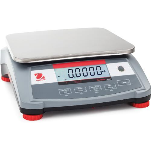 Ohaus R31P1502 Ranger 3000 Compact Bench Scale  Legal for Trade 3 × 0.0001 lb