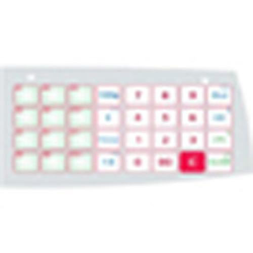 Ohaus 72241852 Keypad, PET Layer ,for Aviator 7000