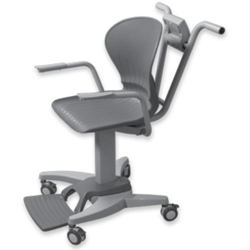 Rice Lake 550-10-1 Digital Physician Chair Scale, 660 x 0.2 lb
