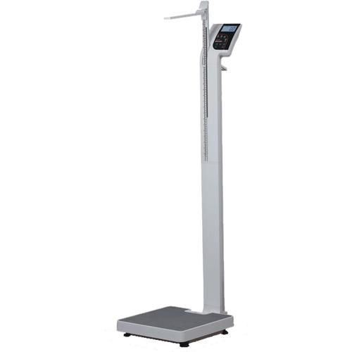 Rice Lake 150-10-5 Eye Level Physician Scale with Height Rod, 550lb x 0.2lb