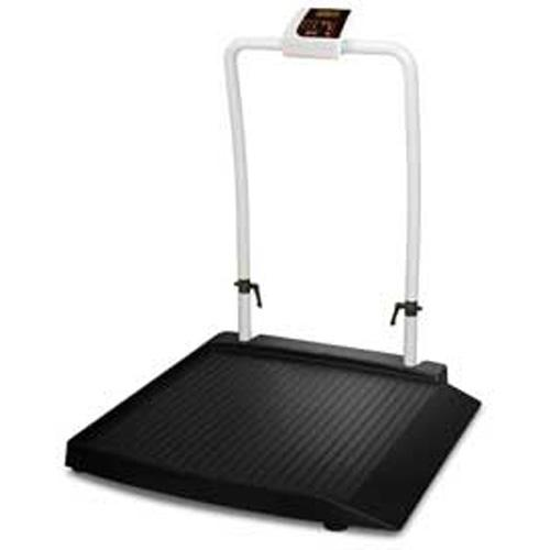 Rice Lake Wheelchair Handrail Scale 350-10-2 - 1000 x 0.2 lb One Ramp