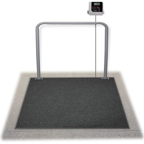 Rice Lake SB-1150-WB In Ground Bariatric Wheelchair Scale, 1000 x 0.2 lb