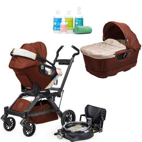Orbit Baby Infant Travel Collection G3 Bassinet And Car Seat With Spa Kit