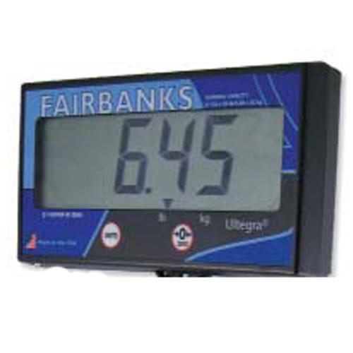 "Fairbanks 29595C  Remote LCD display with 1.5"" characters for Ultegra MAX Parcel Scales"