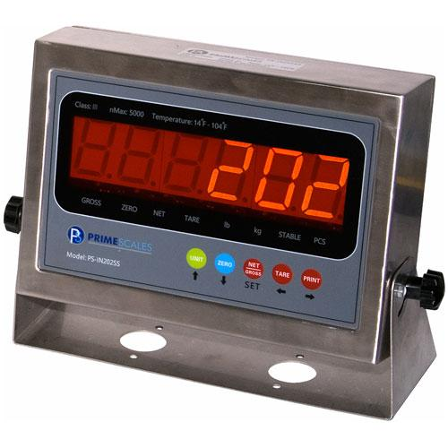 Prime Scales PS-IN202SS - NTEP Legal For Trade Indicator