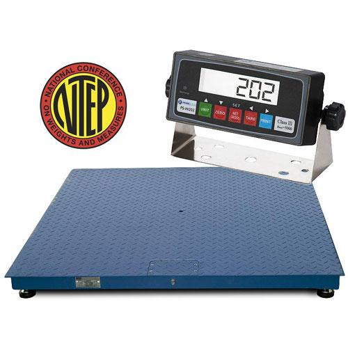 Prime scales gie series ntep floor scale 24 x 24 inches for 1000 lb floor scale