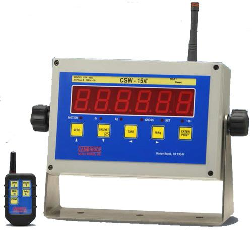 Cambridge CSW-15AT 1.5 LED Indicator Legal for Trade with Wireless Remote