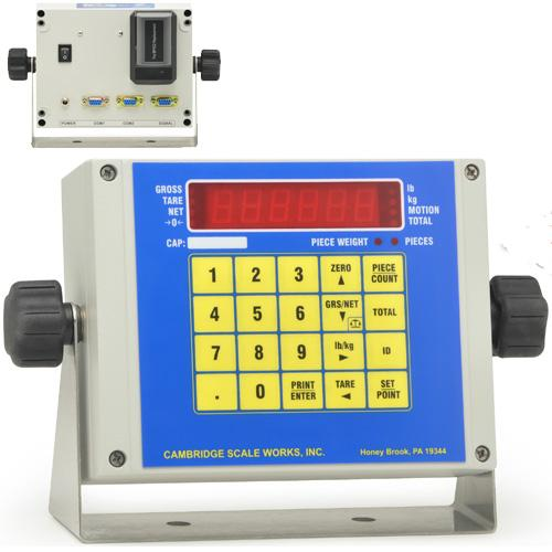 Cambridge CSW-20AT-B LED Indicator Legal for Trade with Battery and Full Numeric Keypad
