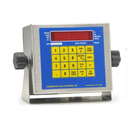 Cambridge SSCSW-20AT LED Indicator Stainless Steel Legal for Trade with Full Numeric Keypad