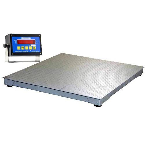 Cambridge 660484810k model 660 ntep low profile 48x48x3 for 10000 lb floor scale