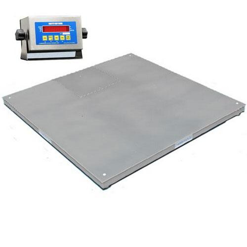 Cambridge 660484810s model ss660 ntep low profile 48x48x3 for 10000 lb floor scale