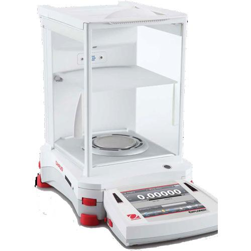 Ohaus EX225D/AD Explorer Semi-Micro Balance (30139513)  with Automatic Door - 120g x 0.01mg and 220g x 0.1mg