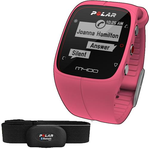 Polar M400 Pink Gps Running Watch Heartrate Sensor Coupons And