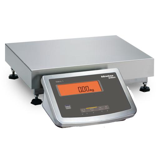 Minebea MW1P1U15DCL Midrics Industrial Scale With Galvanized/Painted frame 12.5 x 9.5, 25lb x 0.005lb