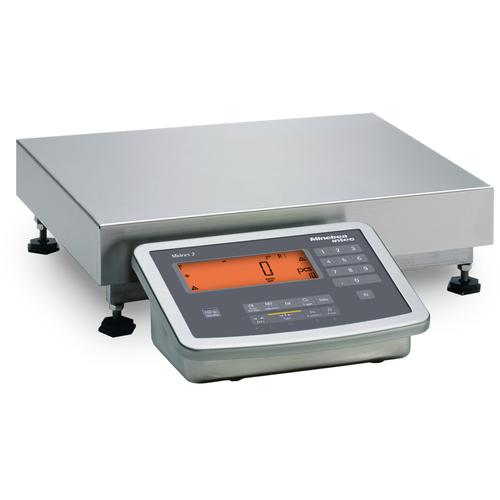 Minebea MW2S1U-6DC-L Midrics Complete Bench 12.5 x 9.5 Stainless Steel Scales ,15 x 0.001 lb