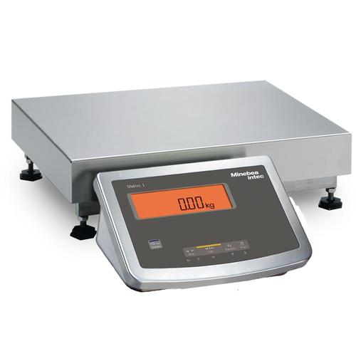 Minebea Midrics MW1S1U60ED Complete Bench Scales Stainless Steel, Non-Verifiable 15.75 x 11.8, 120 x 0.01