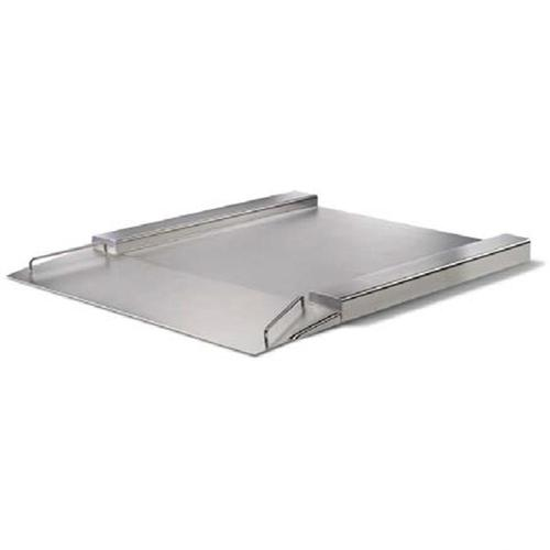 Minebea IFXS4-600II, Stainless Steel, 31.5 x 31.5 inch, FM Approved Flatbed Scale Base, 1320 x 0.05 lb