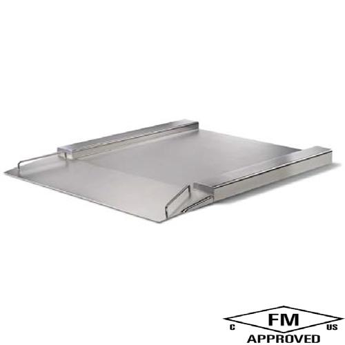 Minebea IFXS4-600LG, Stainless Steel, 39.4 x 23.6 inch, Flatbed Scale Base, 1320 x 0.05 lb
