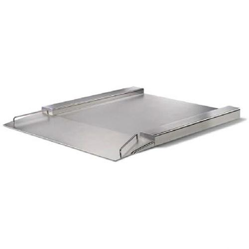 Minebea IFXS4-3000NN, Stainless Steel, 49.2 x 49.2 inch, FM Approved Flatbed Scale Base, 6600 X 0.2 lb